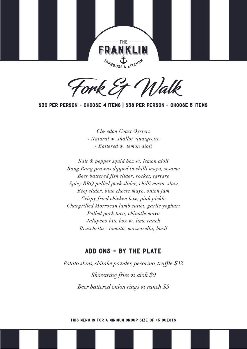 Fork and walk