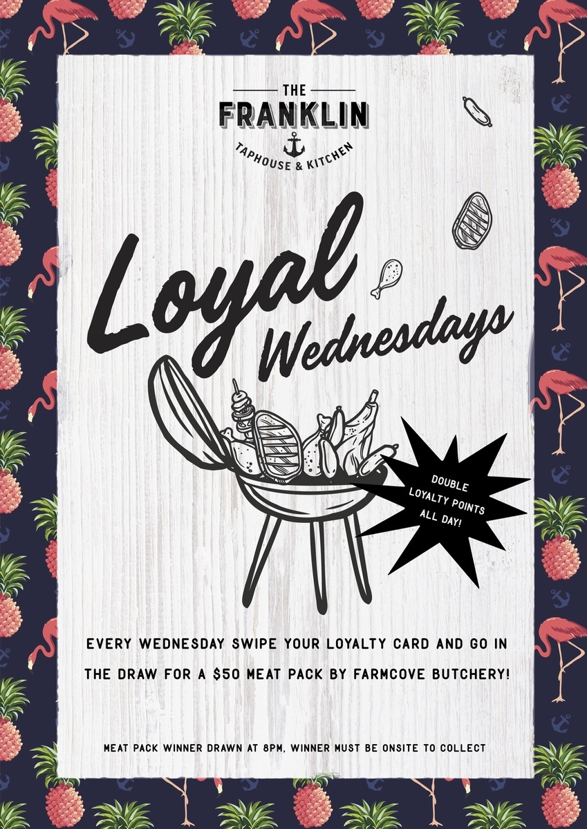 Wednesday Loyalty night